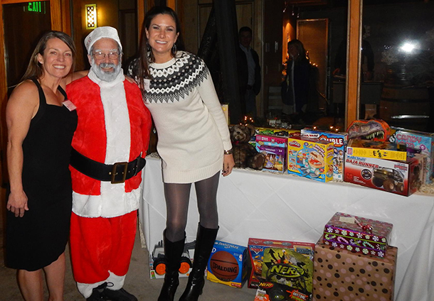 Our staff collected a huge amount of toys for the Toys For Tots drive.