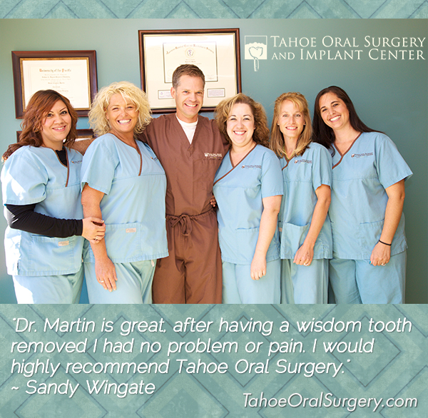 new oral surgery client testimonial