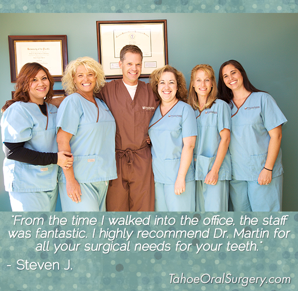 patient testimonials about oral surgeon
