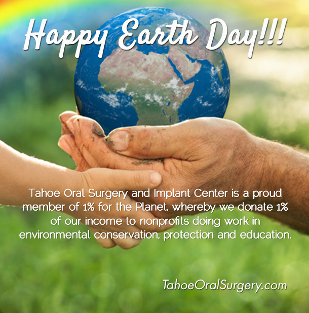 Tahoe Oral Surgery gives back to the Tahoe environmental organizations