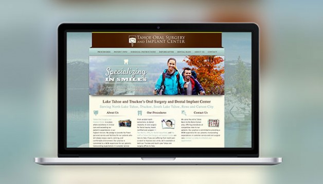 The New Tahoe Oral Surgery Website is Live