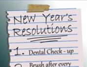 New Year's Resolutions for a Healthy Mouth