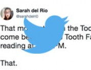 Funny tweets from the Tooth Fairy
