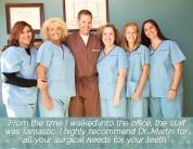 New patient testimonials